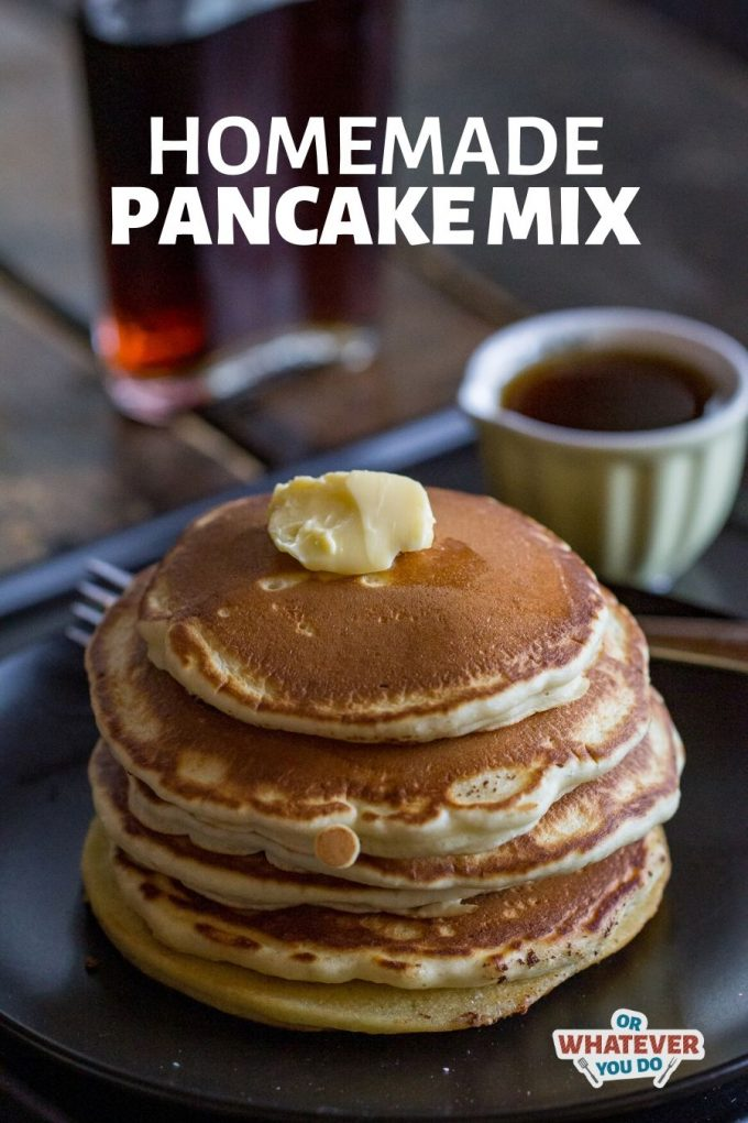 Homemade Dry Pancake Mix