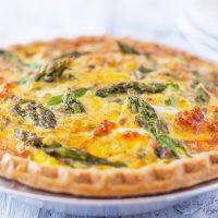 Asparagus Quiche Recipe Perfect for Brunch