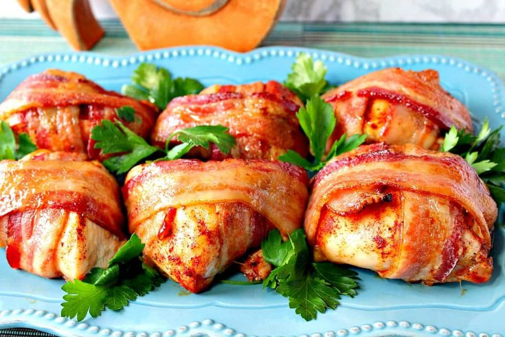 Smoky-Sweet Bacon Wrapped Chicken Breast