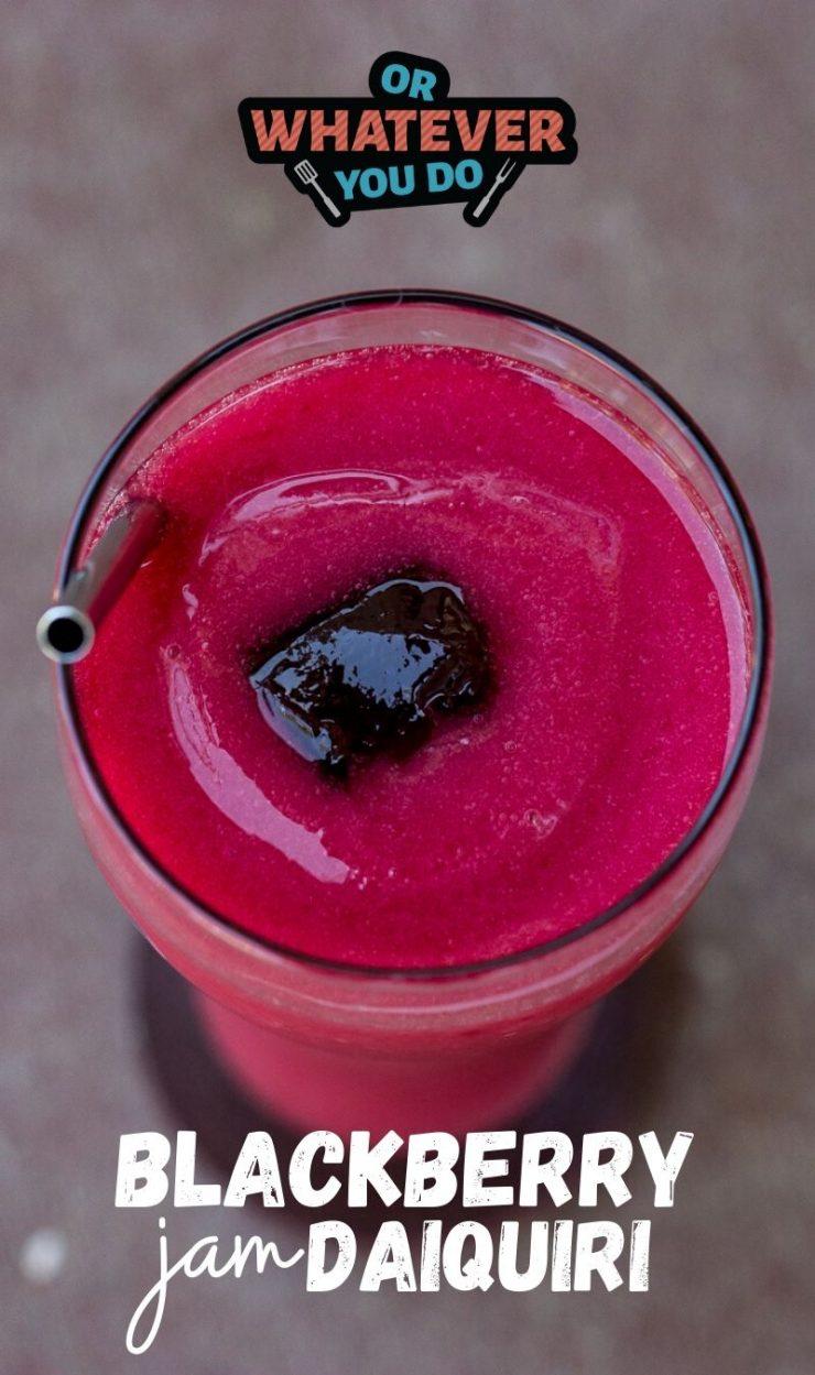 Blackberry Jam Daiquiri
