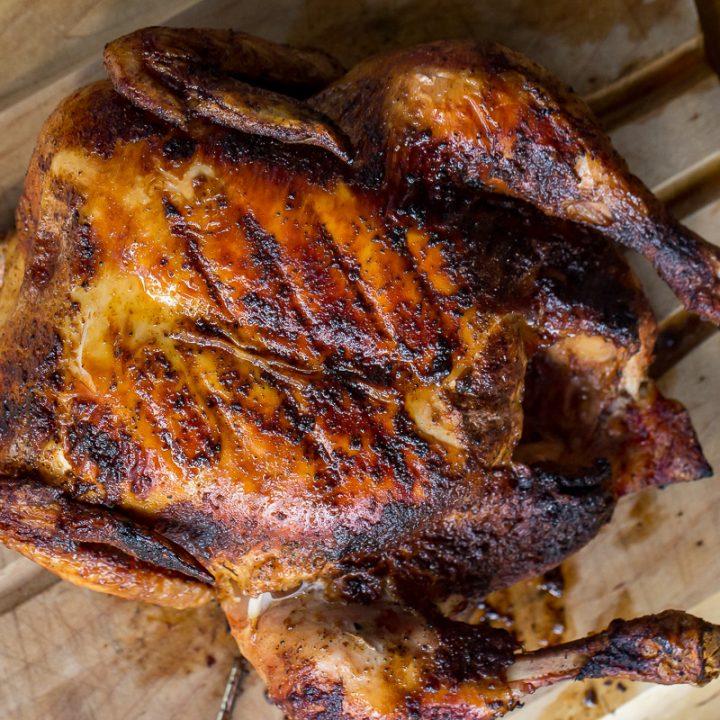Traeger Grilled Nashville Hot Chicken
