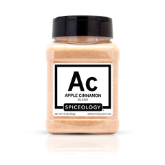 Bottle of Spiceology Apple Cinnamon Blend