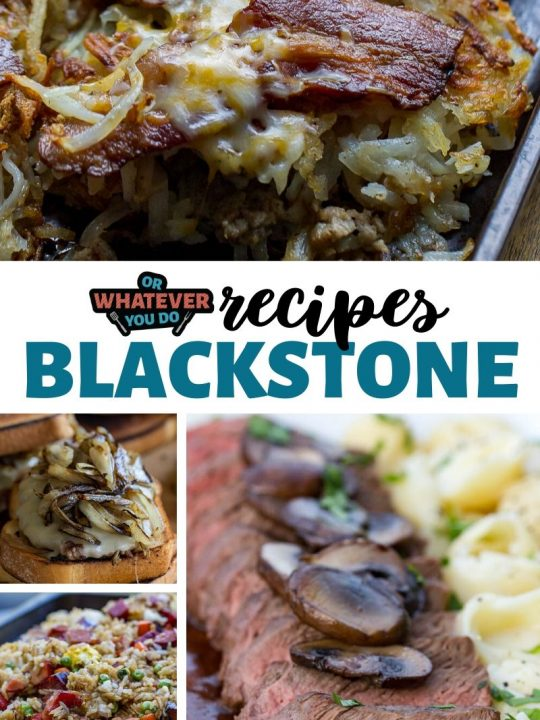 Blackstone Recipes