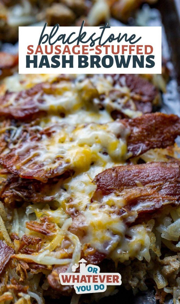 Blackstone Griddle Stuffed Hash Browns