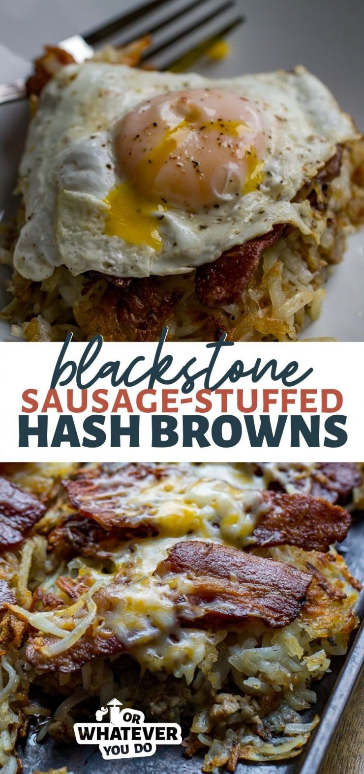 Blackstone Stuffed Hash Browns