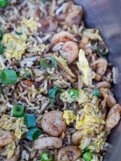 Hibachi-Style Shrimp Fried Rice