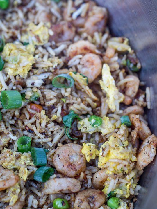 Hibachi-Style Shrimp Fried Rice
