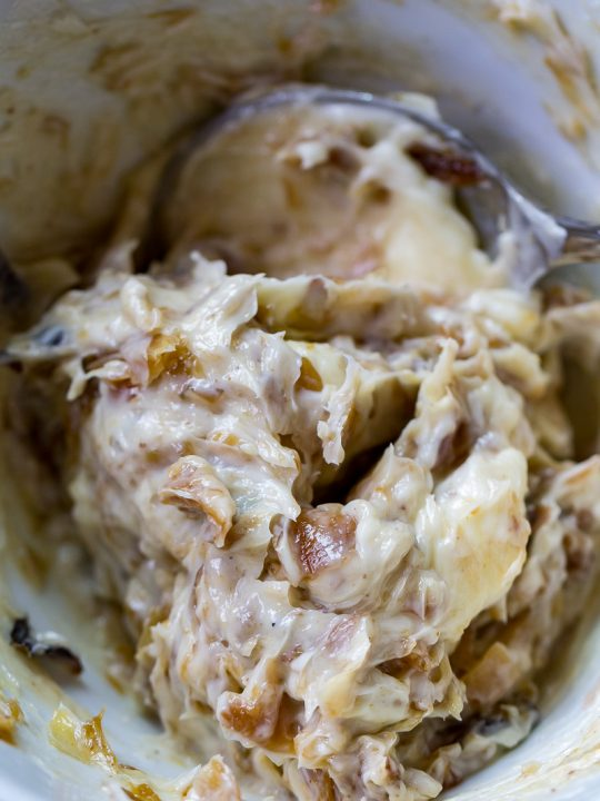 Smoked Caramelized Onion Butter
