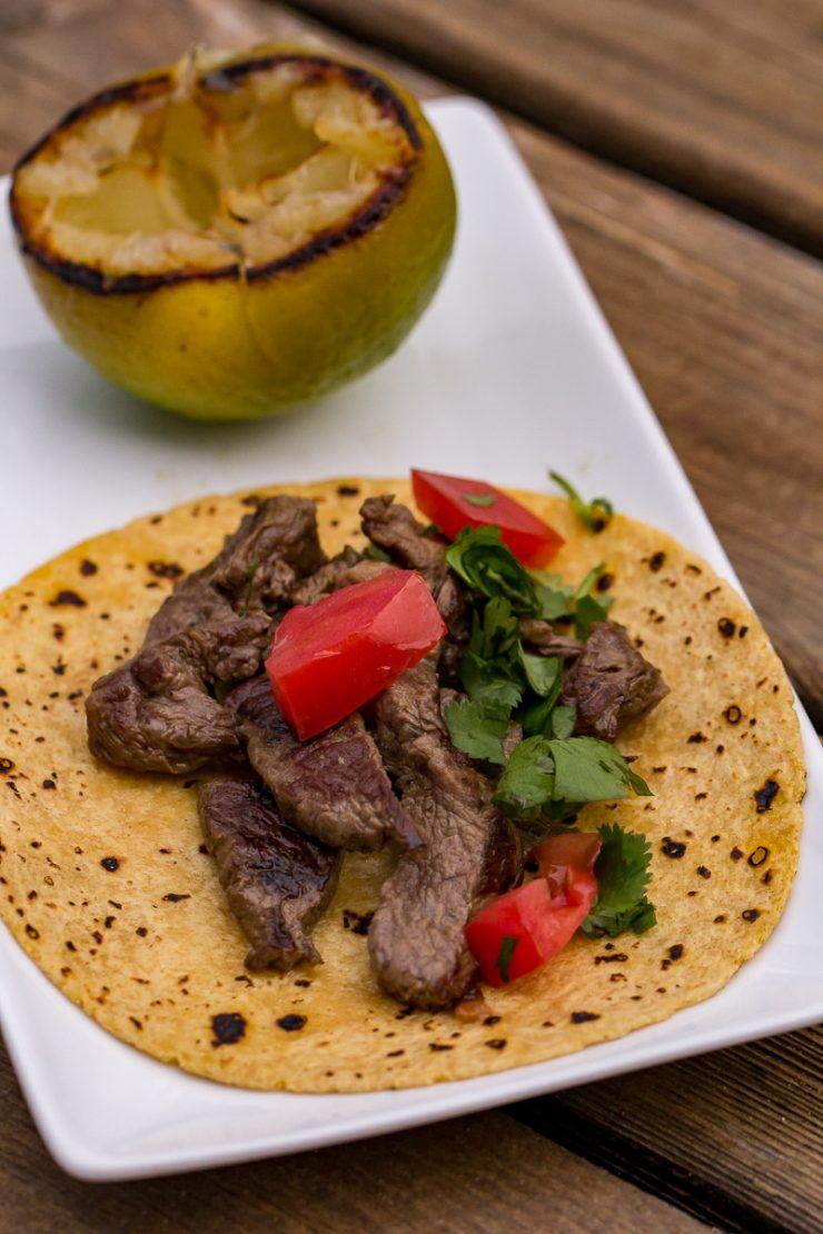 Blackstone Steak Tacos