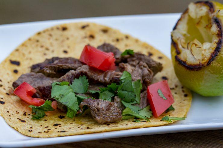 Flat top Steak Tacos