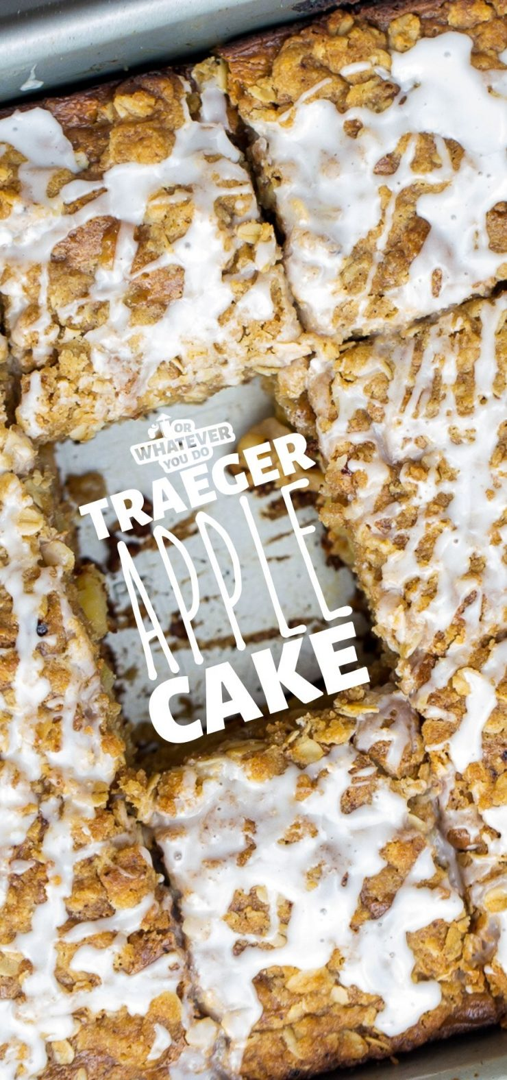 Traeger Apple Cake