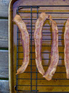 Traeger No-Flip Bacon