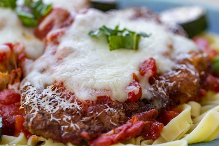 Homemade Veal Parmesan