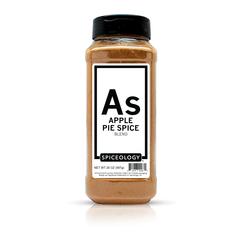 Bottle of apple pie spice