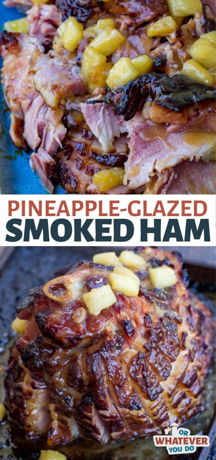Pineapple-Glazed Smoked Ham