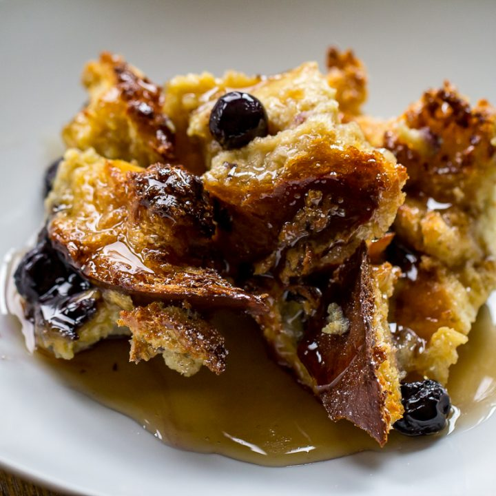 Baked Blueberry Brioche French Toast Or Whatever You Do