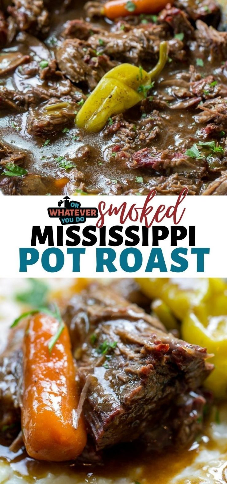 Traeger Smoked Mississippi Pot Roast