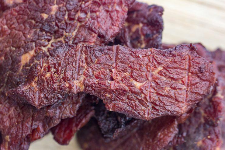 Beef Jerky close-up