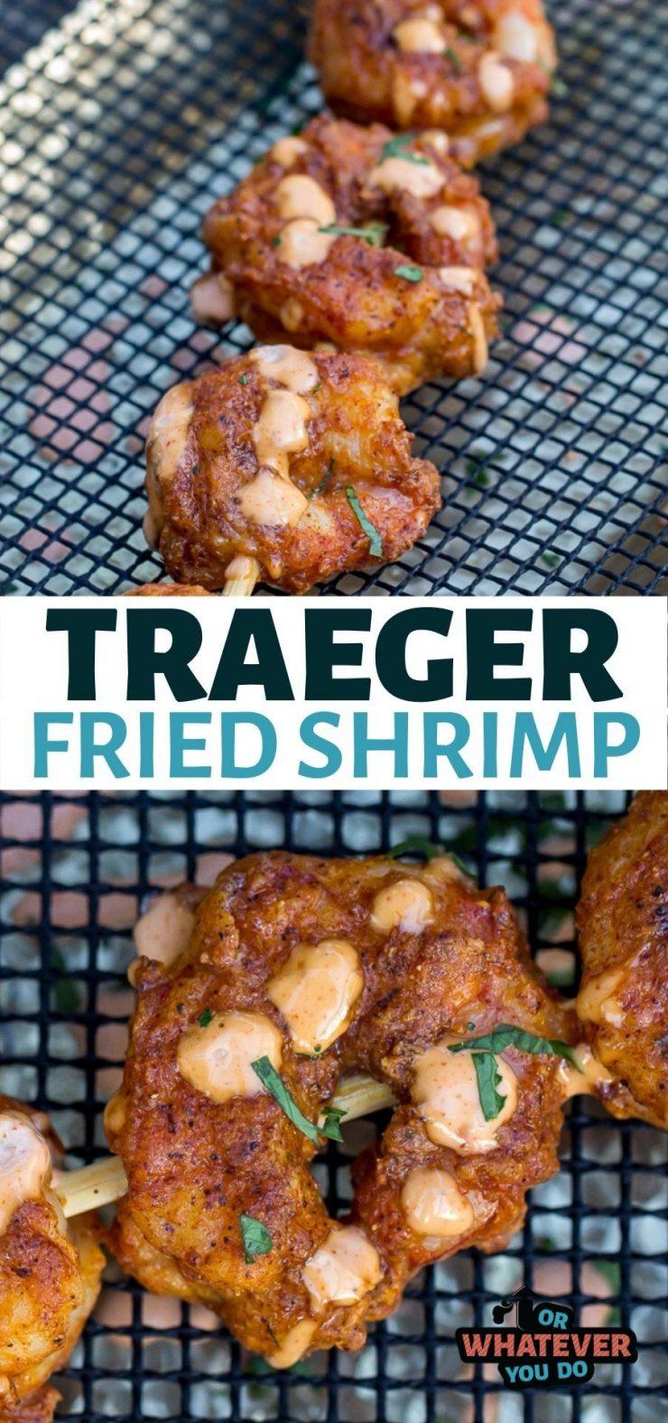 Traeger Fried Shrimp