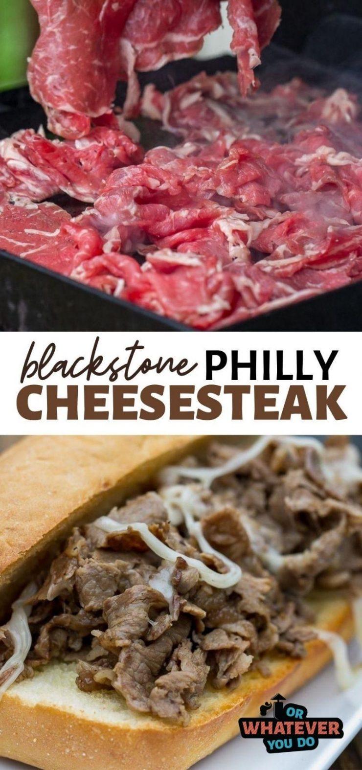 Blackstone Philly Cheesesteak