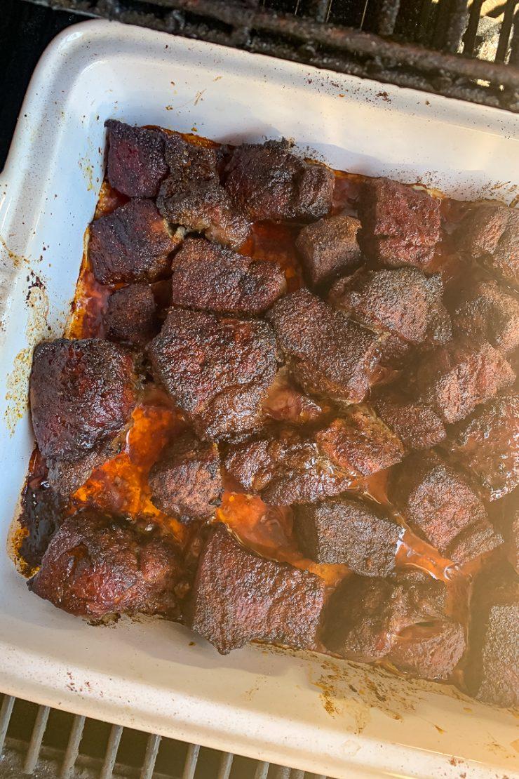 Pellet Grill Birria Beef Tacos