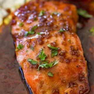 Traeger Honey Garlic Salmon