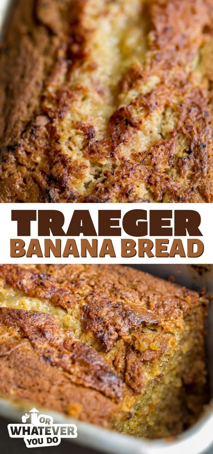 Traeger Banana Bread
