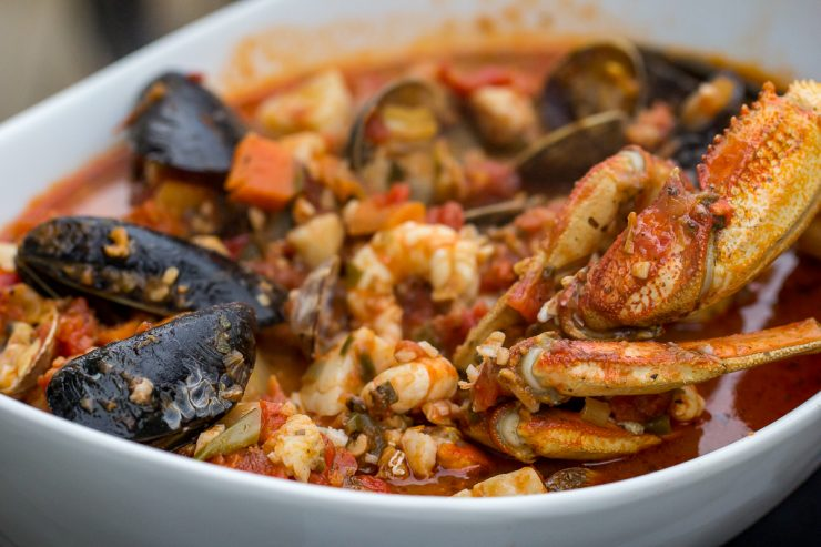 Traeger Pacific Northwest Cioppino