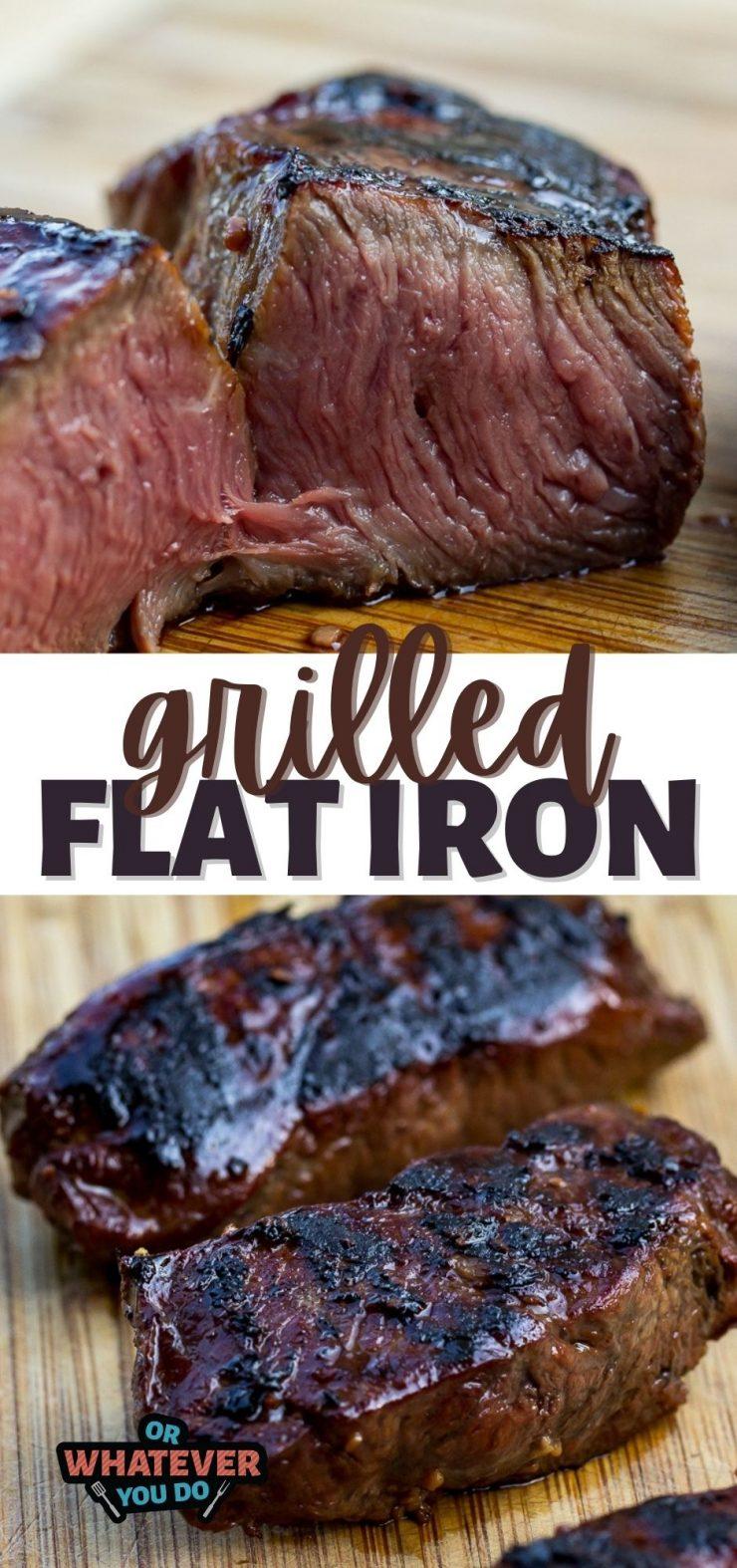 Reverse Seared Flat Iron Steak Recipe