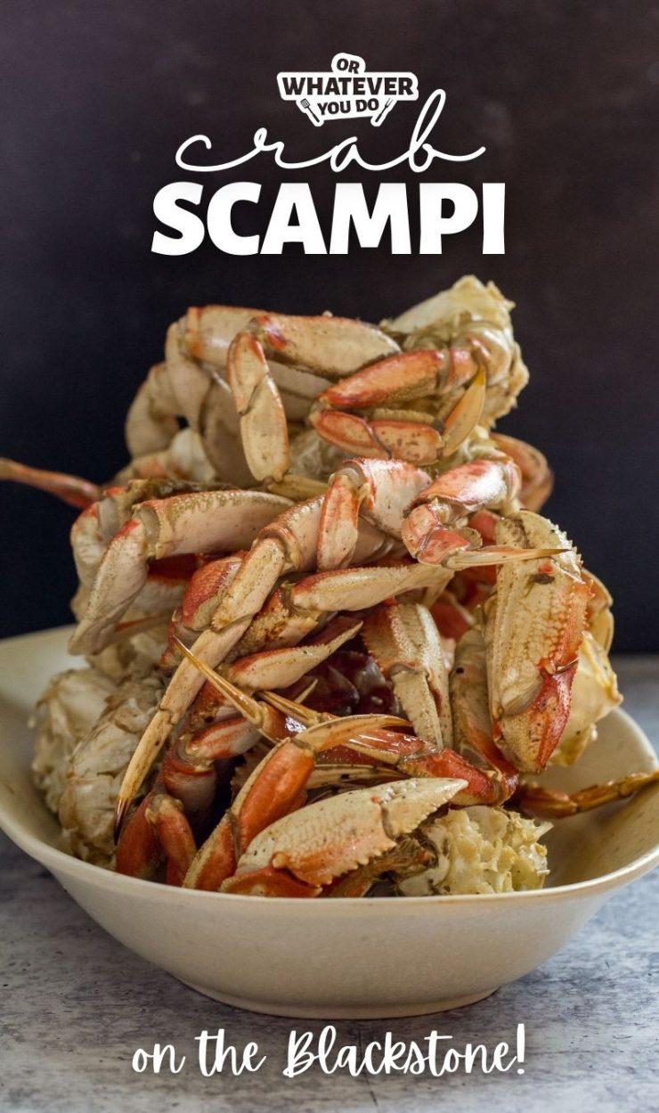 Crab Scampi