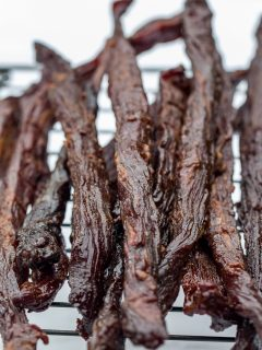 Smoked Teriyaki Beef Jerky Sticks