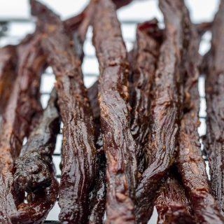 Smoked Teriyaki Beef Jerky Sticks
