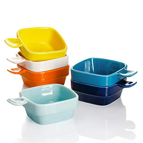 Square Dipping Bowls