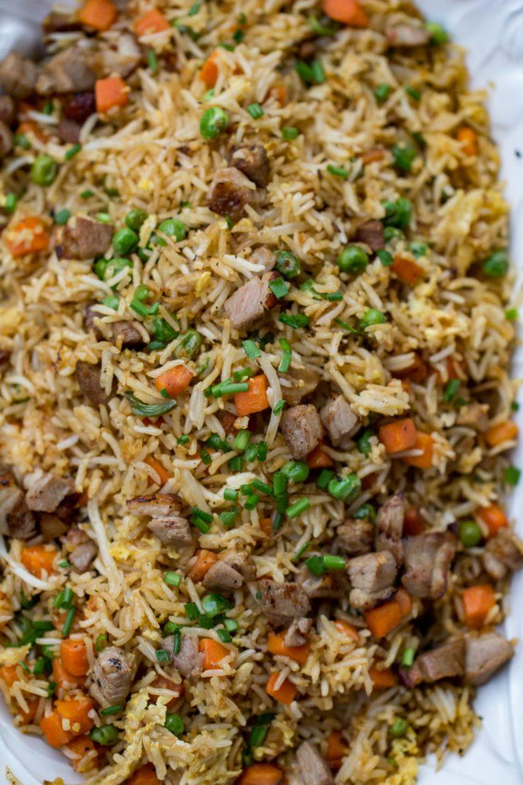 Blackstone Duck Fried Rice