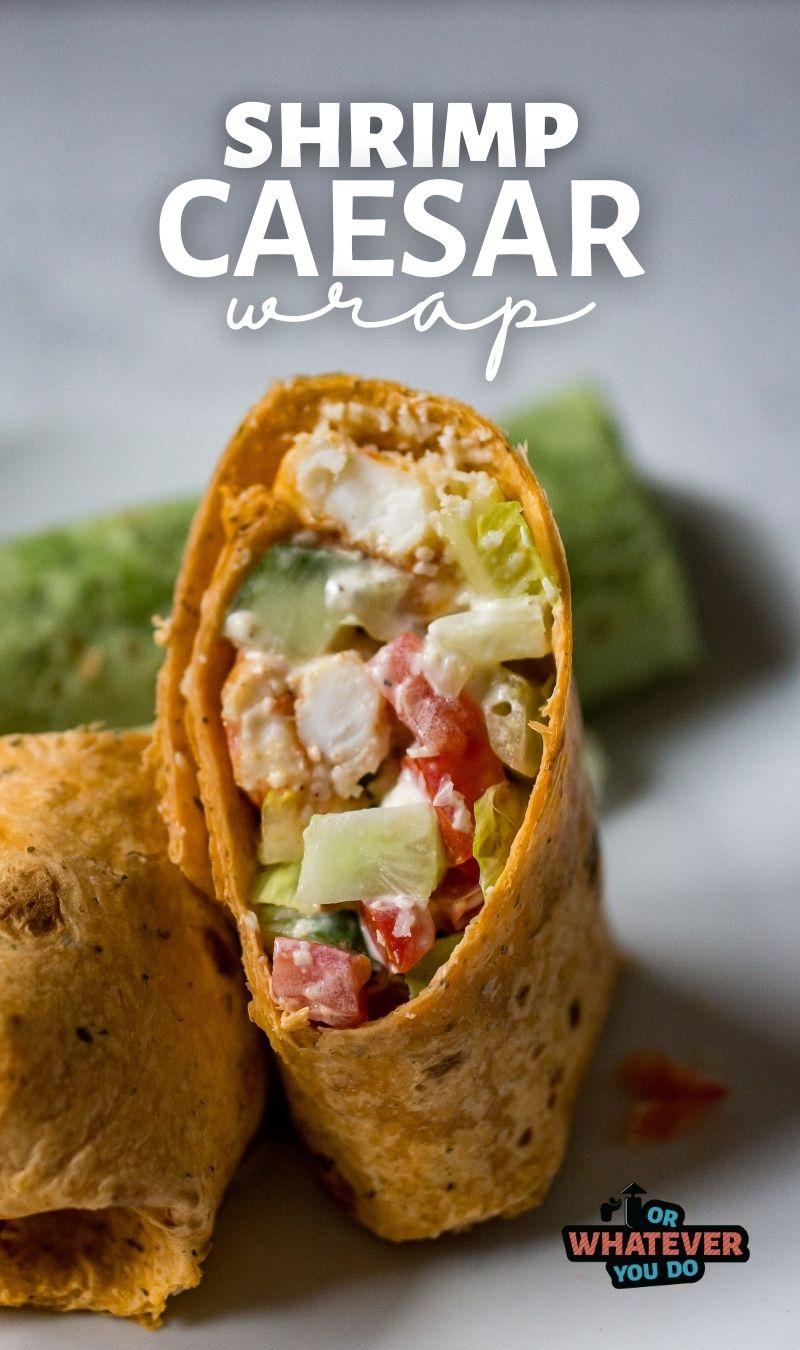 Blackened Shrimp Caesar Wrap