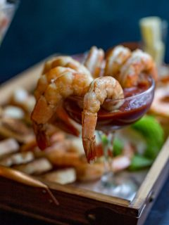 Grill and Chill Shrimp Cocktail