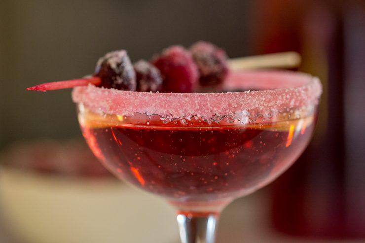 Sparkling Cranberry Prosecco