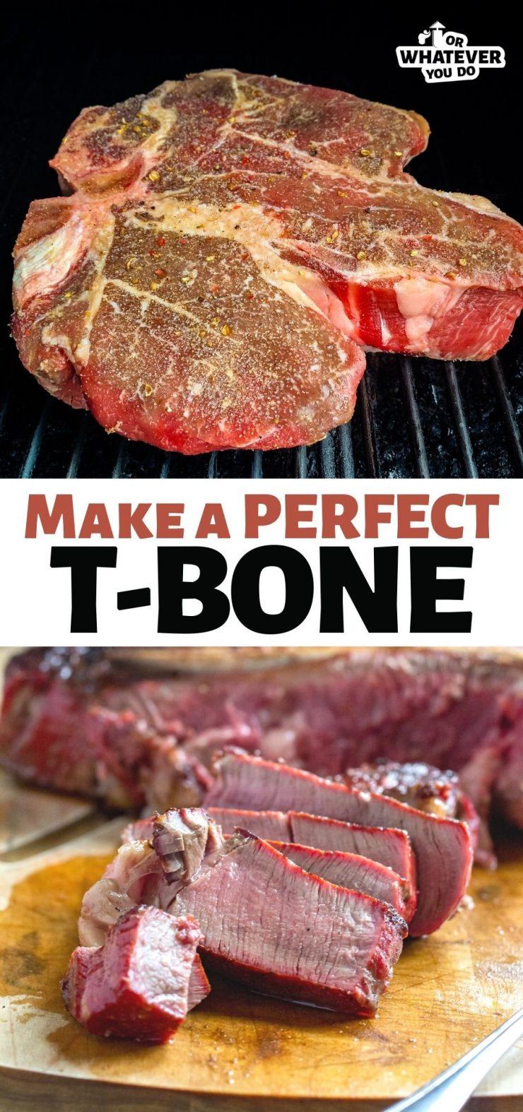Traeger T-Bone Steak