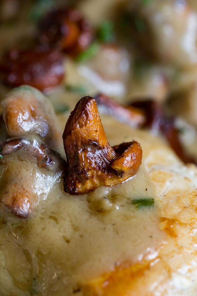 Blackstone Chicken Breast with Mushroom Gravy