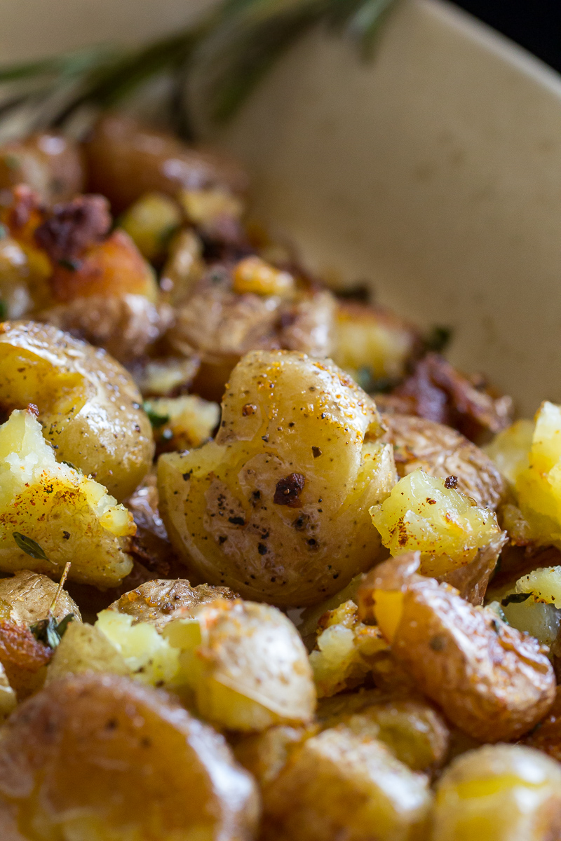Blackstone Smashed Potatoes