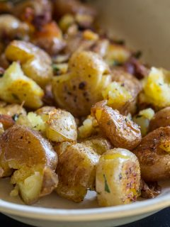 Blackstone Smashed Potatoes