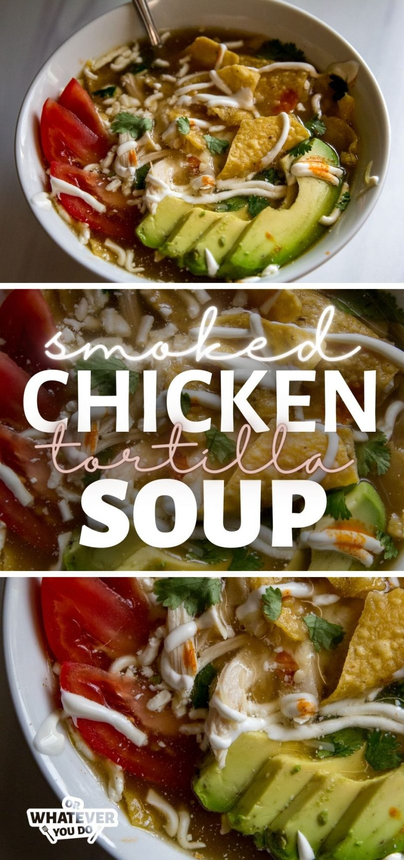 Smoked Chicken Tortilla Soup