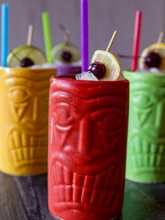 Cherry Pineapple Rum Punch