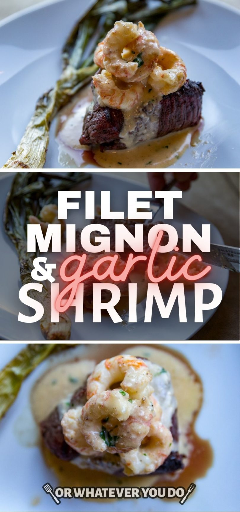 ButcherBox Filet Mignon with Creamy Shrimp Sauce