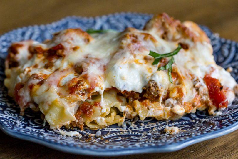 Mock Lasagna Casserole