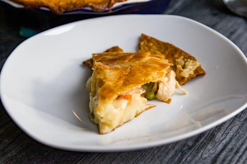 Traeger Chicken Pot Pie