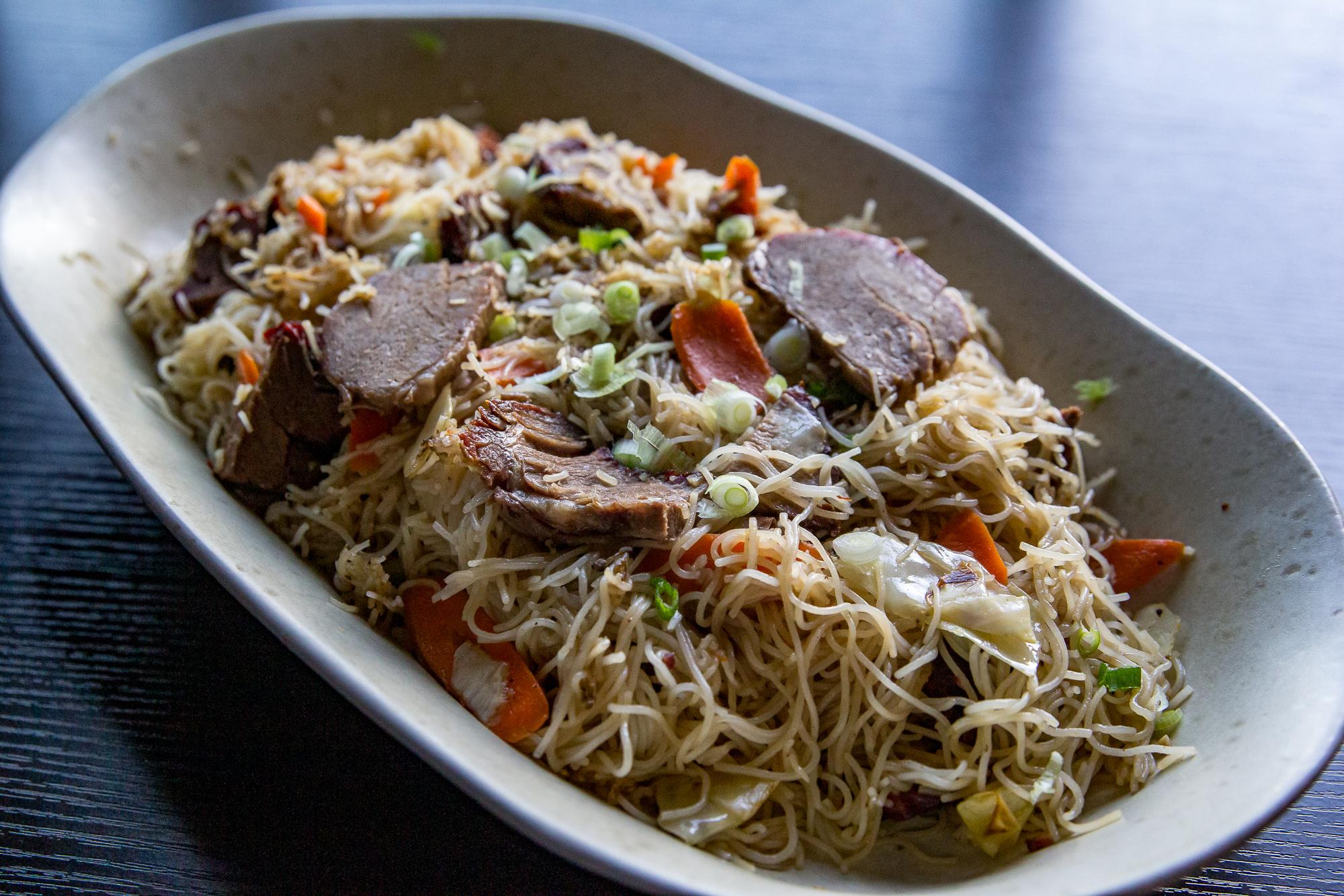 Smoked Beef Pancit Recipe