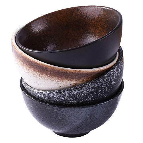 Japanese Style 4.5 Inch Rice Bowls