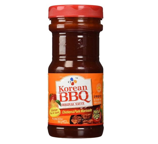 Spicy Korean BBQ Sauce & Marinade