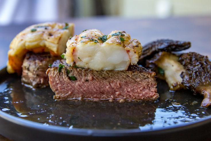 Blackstone Filet MIgnon with Lobster